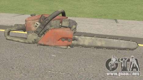Chainsaw HQ para GTA San Andreas