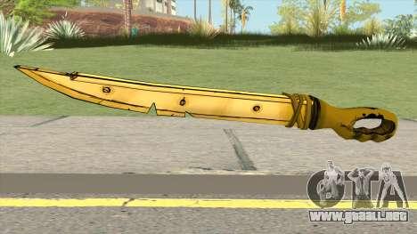 Allison Angel Sword (Bendy And The Ink Machine) para GTA San Andreas