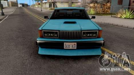 Sentinel XS from GTA VC para GTA San Andreas