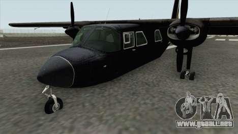 Britten-Norman BN-2 Islander (007 Spectre) para GTA San Andreas