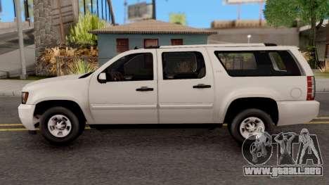 Chevrolet Suburban LT 2007 White para GTA San Andreas