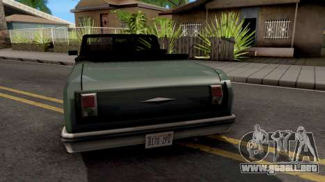 Declasse Biennial v2 para GTA San Andreas