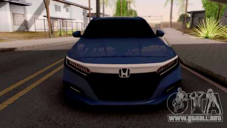 Honda Accord 2019 Sport para GTA San Andreas