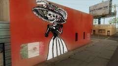 Mural La Catrina (Mexicana) para GTA San Andreas