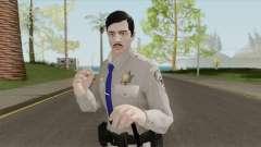 GTA Online Random Skin 16 SAHP Officer para GTA San Andreas