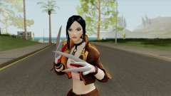Target-X From Overwatch LQ para GTA San Andreas