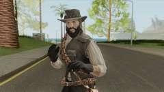 John Marston With Beard para GTA San Andreas