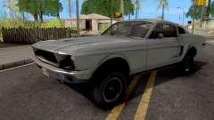 Ford Mustang Fastback GT390 Bullitt 1968 para GTA San Andreas