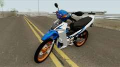 Yamaha 125z Full STD v2 para GTA San Andreas
