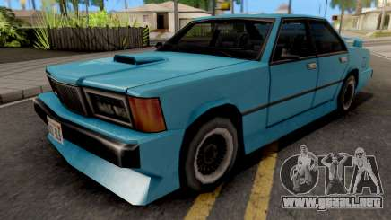 Sentinel XS from GTA VC para GTA San Andreas