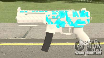 Submachine Gun MK2 (Ice) para GTA San Andreas