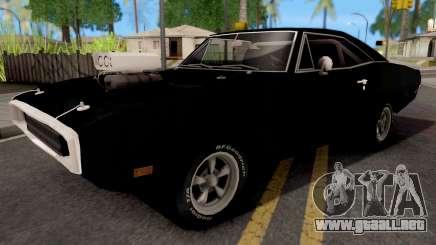 Dodge Charger 1970 Black para GTA San Andreas