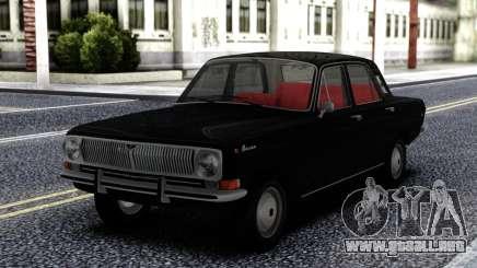 GAZ 24 Volga Negro para GTA San Andreas