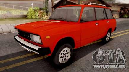 VAZ 2104 Timón a la Derecha para GTA San Andreas
