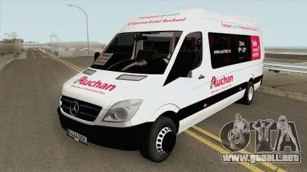 Mercedes-Benz Sprinder 313 CDi Auchan Romania para GTA San Andreas
