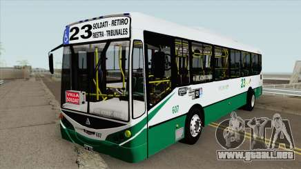 Linea 23 Metalpar Iguazu II Agrale MT15 Interno para GTA San Andreas