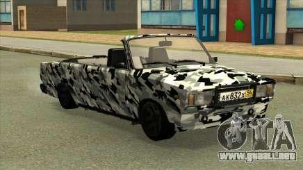 2107 de Camuflaje. para GTA San Andreas
