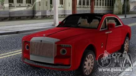 Rolls-Royce Sweptail para GTA San Andreas