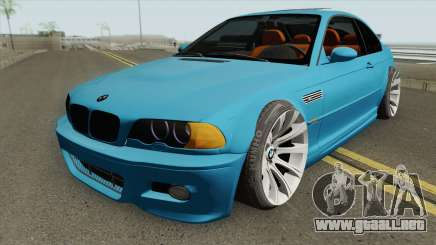 BMW M3 E46 SlowDesign 2006 para GTA San Andreas