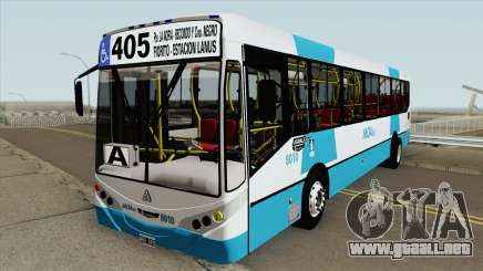 Linea 405 Metalpar Iguazu II Agrale MT17 Interno para GTA San Andreas