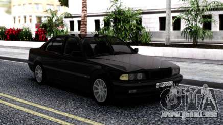 BMW 730i E38 Stock para GTA San Andreas