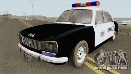 Peugeot 504 Police para GTA San Andreas