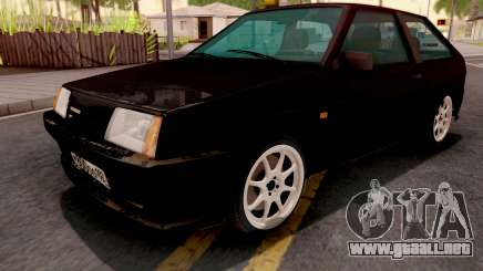 VAZ-2108 negro para GTA San Andreas