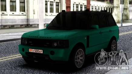 Land Rover Range Rover Green para GTA San Andreas