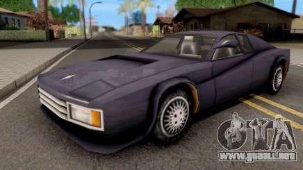Cheetah GTA VC para GTA San Andreas