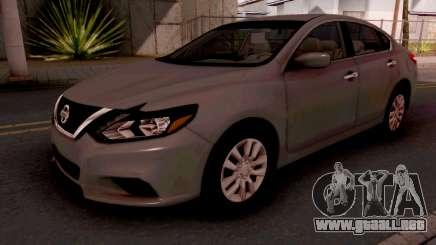 Nissan Altima 2017 para GTA San Andreas