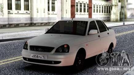 VAZ 2170 Priora Blanco para GTA San Andreas