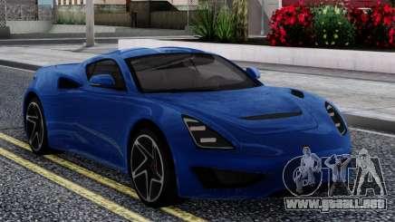 Saleen S1 2018 para GTA San Andreas