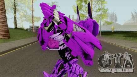Shockwave Transformers WFC para GTA San Andreas