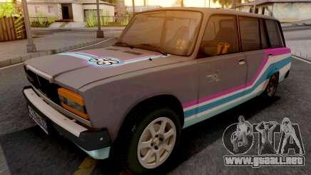 VAZ 2104 Deriva del Coche deportivo para GTA San Andreas