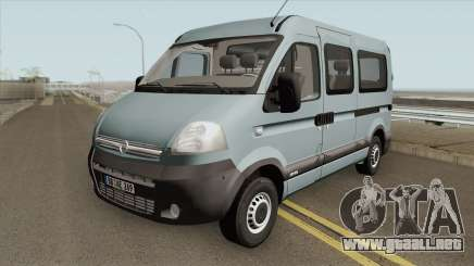 Opel Movano (Short Kombi V1) para GTA San Andreas