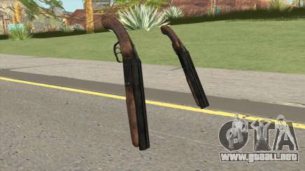 Sawnoff Shotgun HQ para GTA San Andreas