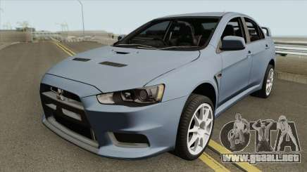 Mitsubishi Lancer Evolution X HQ para GTA San Andreas