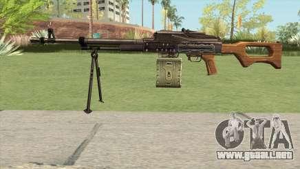 CSO PKM Machine Gun para GTA San Andreas