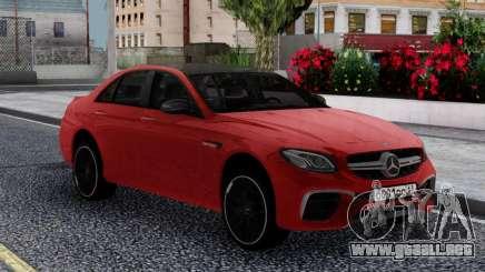 Mercedes-Benz E63s FIX para GTA San Andreas