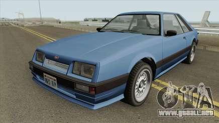 Vapid Uranus (Tunable) GTA IV para GTA San Andreas