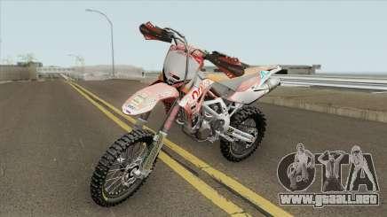 Aprilla MXV 450 para GTA San Andreas