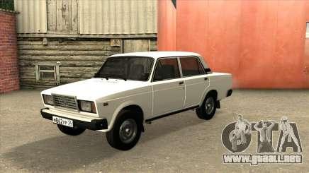 2107 De Drenaje Blanco para GTA San Andreas