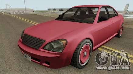 Benefactor Schafter GTA IV (SA Style) para GTA San Andreas