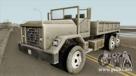 Flatbed GTA III para GTA San Andreas