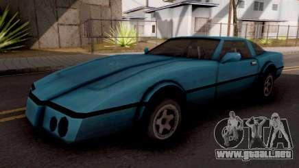 Banshee GTA VC Blue para GTA San Andreas