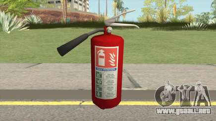 Fire Extinguisher HQ para GTA San Andreas