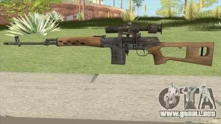 SVD (Medal Of Honor 2010) para GTA San Andreas