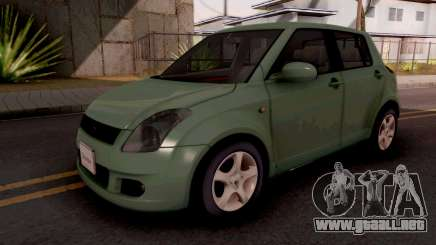 Suzuki Swift Green para GTA San Andreas