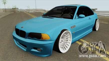 BMW E46 M3 HQ para GTA San Andreas