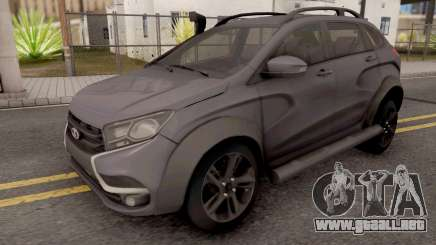 Lada X-Ray Grey para GTA San Andreas